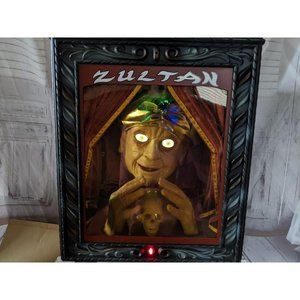 Gemmy fortune teller zultan halloween prop animate